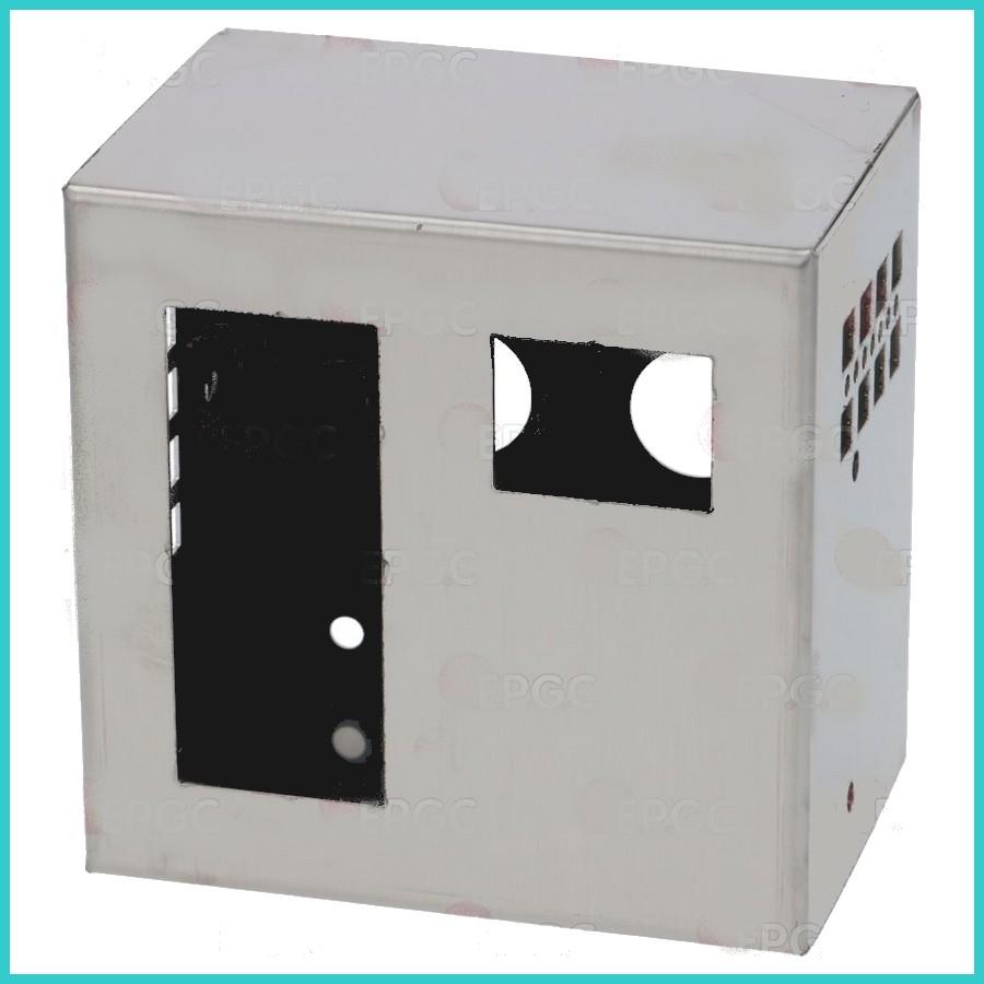 boitier inox pour deux thermostats digitaux. Black Bedroom Furniture Sets. Home Design Ideas