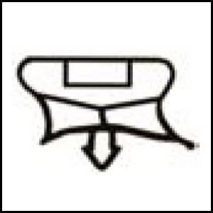 joints de frigos professionnels f808 longueur 2 m. Black Bedroom Furniture Sets. Home Design Ideas