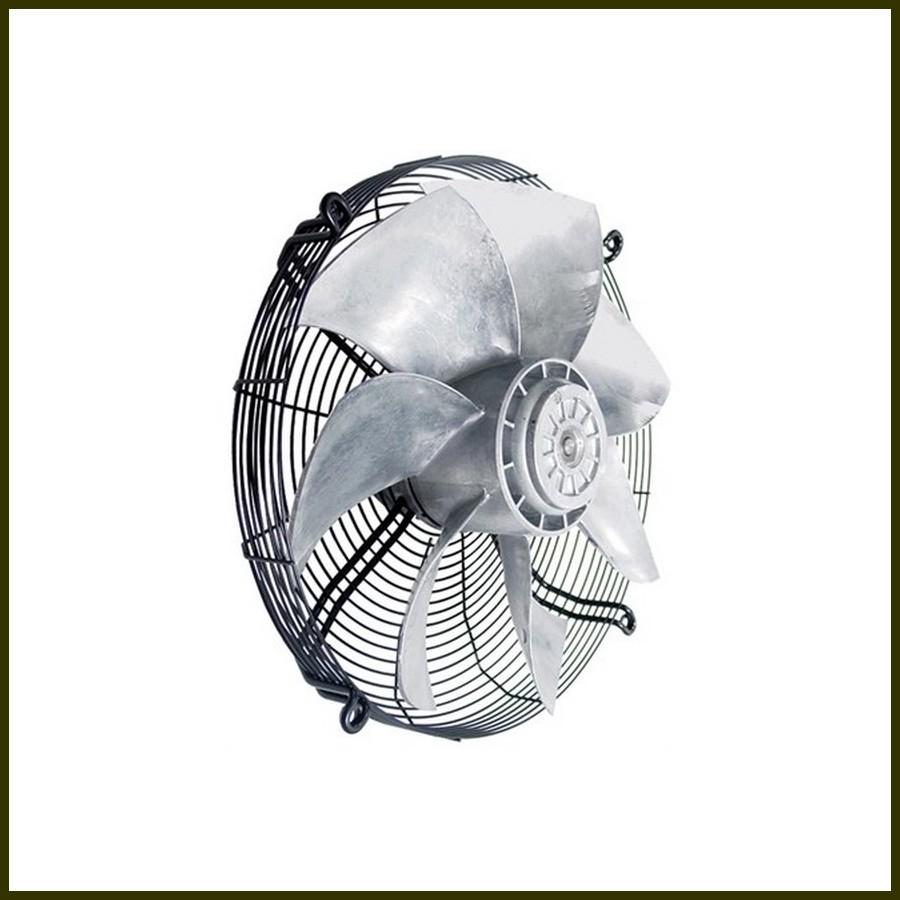 Ventilateur avec grille ziehl abegg fe045 vdk 4f 410 w for Rafraichir piece avec ventilateur
