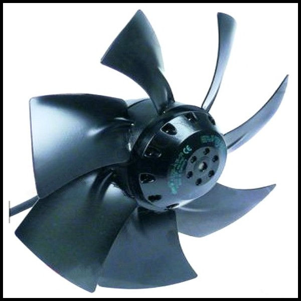 ventilateur avec moteur int gr ebmpapst a2e250 al06 09 h lice 250 mm grille en option. Black Bedroom Furniture Sets. Home Design Ideas