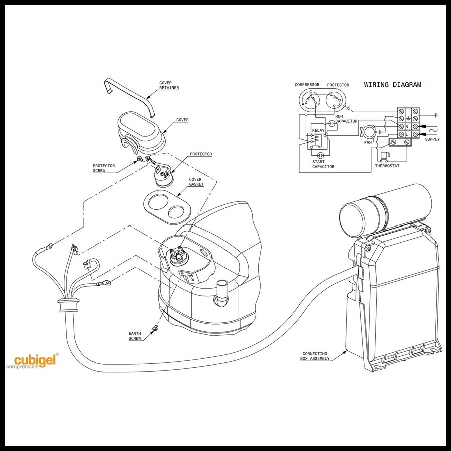 compresseur acc cubigel gs34tb