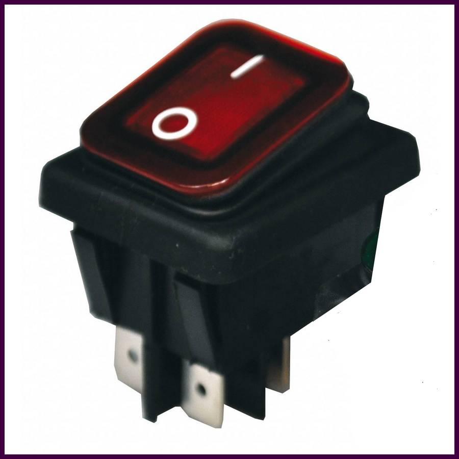 interrupteur tanche lumineux rouge tanche. Black Bedroom Furniture Sets. Home Design Ideas