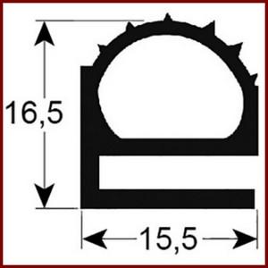joint de mat riel frigorifique gris sur mesure type 9174. Black Bedroom Furniture Sets. Home Design Ideas