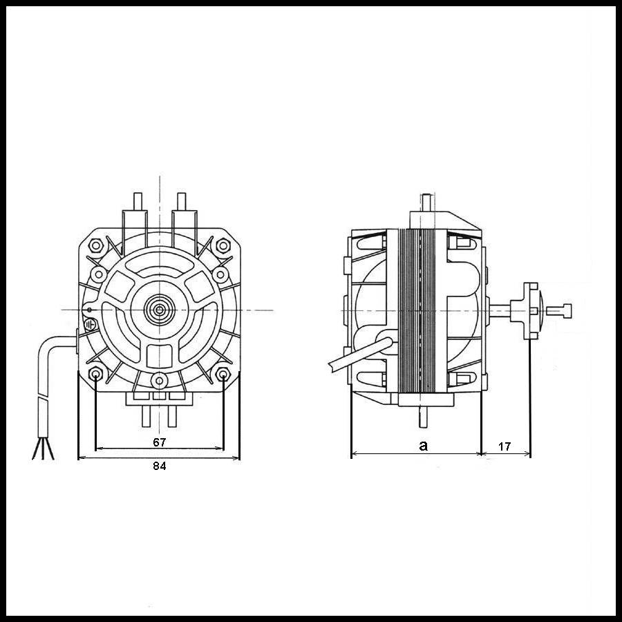 moteur de ventilateur weiguang yzf10  36 10 w promotion
