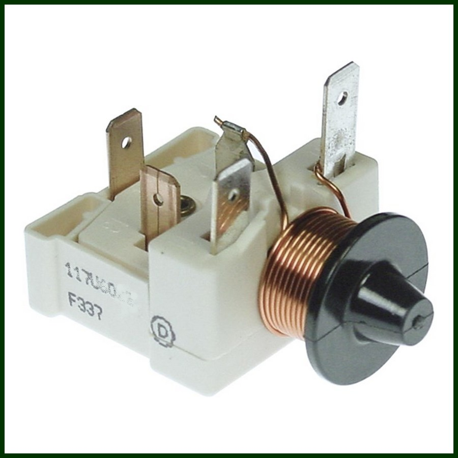 Relais de d/émarrage pour compresseur de r/éfrig/érateur QP2-15C//QP2-12 trois inserts type universel 15 Ohm