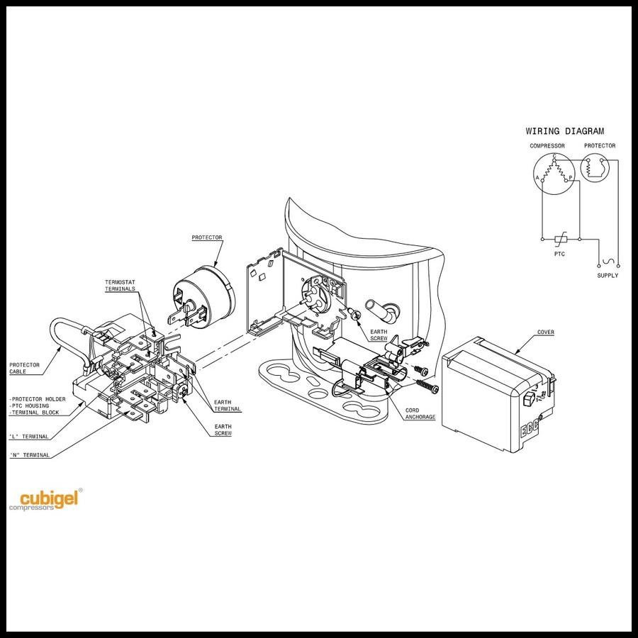 compresseur acc cubigel electrolux gl90aa