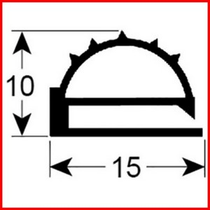 joint de mat riel frigorifique gris sur mesure type 9103. Black Bedroom Furniture Sets. Home Design Ideas