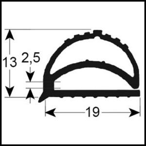 joint de mat riel frigorifique gris sur mesure type 9158. Black Bedroom Furniture Sets. Home Design Ideas