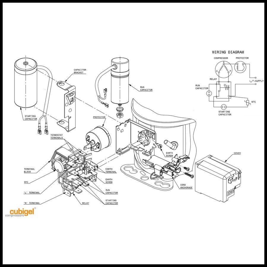 compresseur acc cubigel electrolux mx21fba