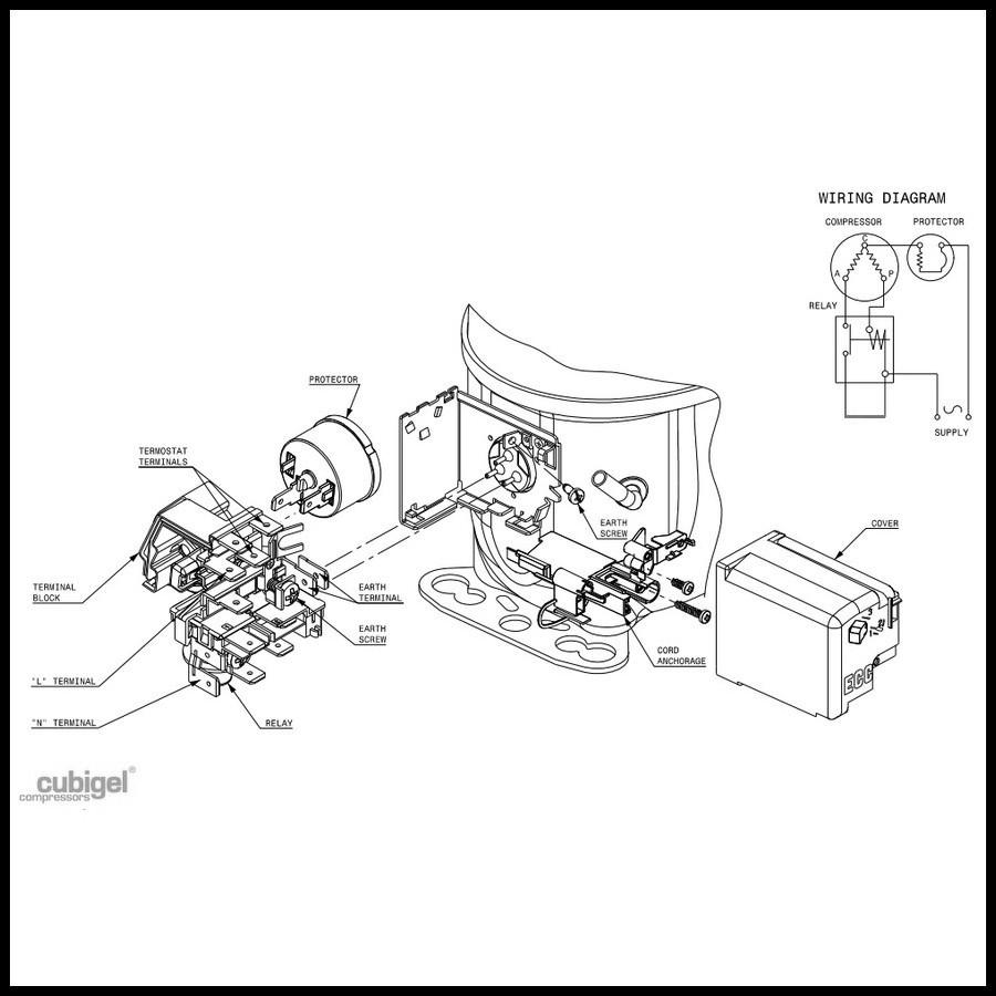 compresseur acc cubigel gl80tb