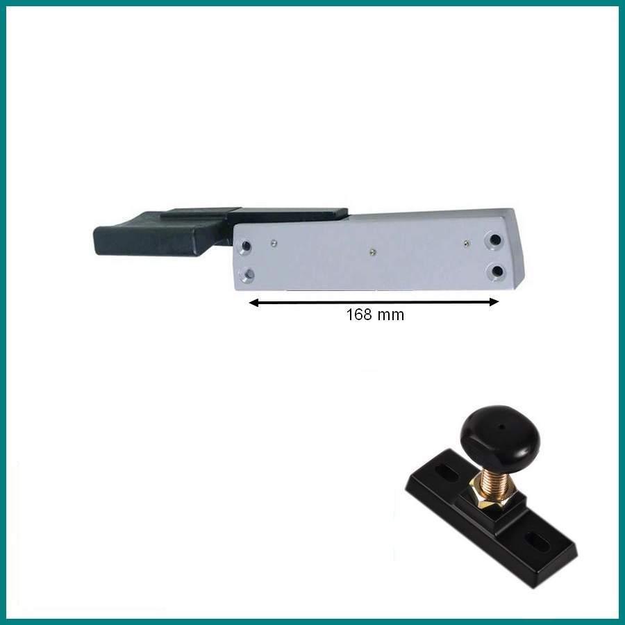 Fermeture pour porte de chambre froide FERMOD 202/DX-SX 1225 entraxe ...